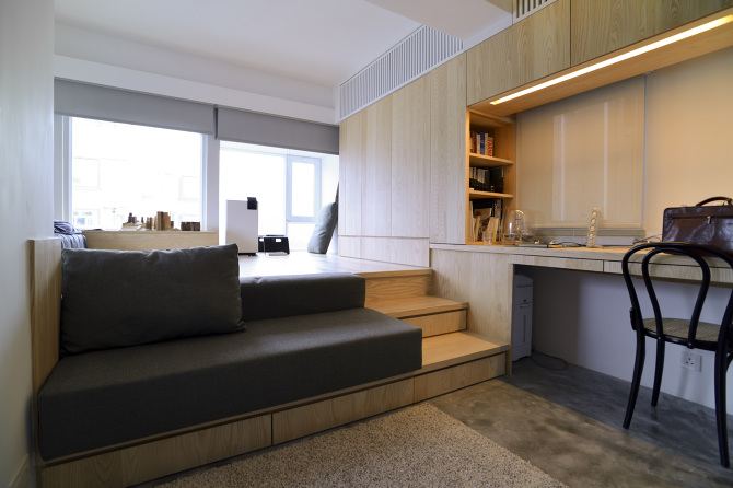 In Addition To Revising The Floor Plans And Opting For Scaled Down,  Custom Built Furniture To Better Fit The Space, The Other Top Priority Was  To Design And ...